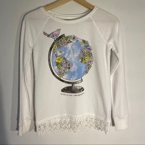 Justice Sweater Girls Size 10